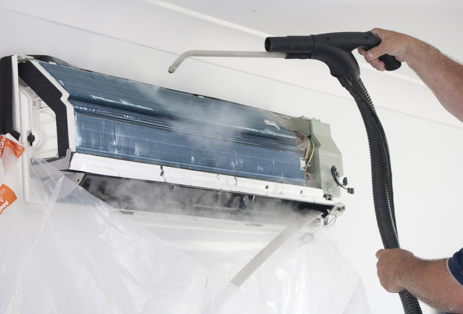 Aircon Antibacterial Steam Cleaning